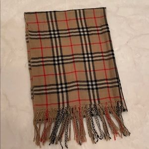 Burberry Dupe Scarf!!!